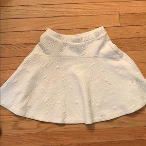 Aqua brand high waisted mini skirt